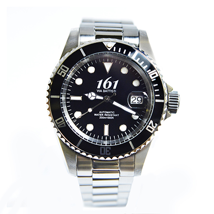 161-VIA-BATTISTI Diver Black