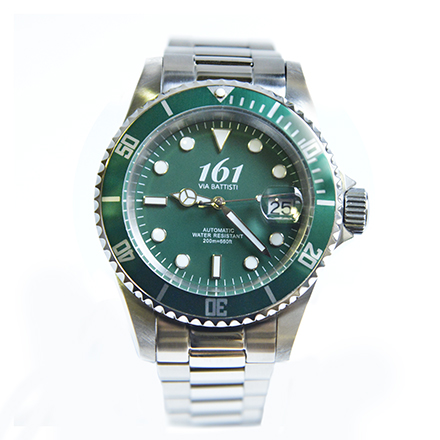 161-VIA-BATTISTI Diver Green