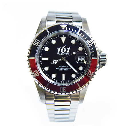161-VIA-BATTISTI Diver Red