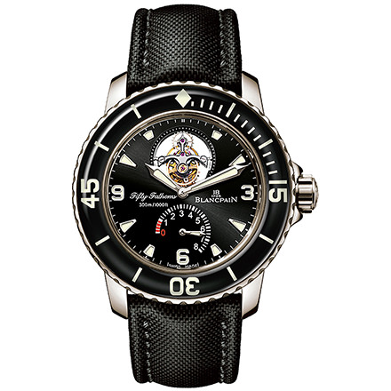 BLANCPAIN FIFTY-FATHOMS - TOURBILLON 8 JOURS