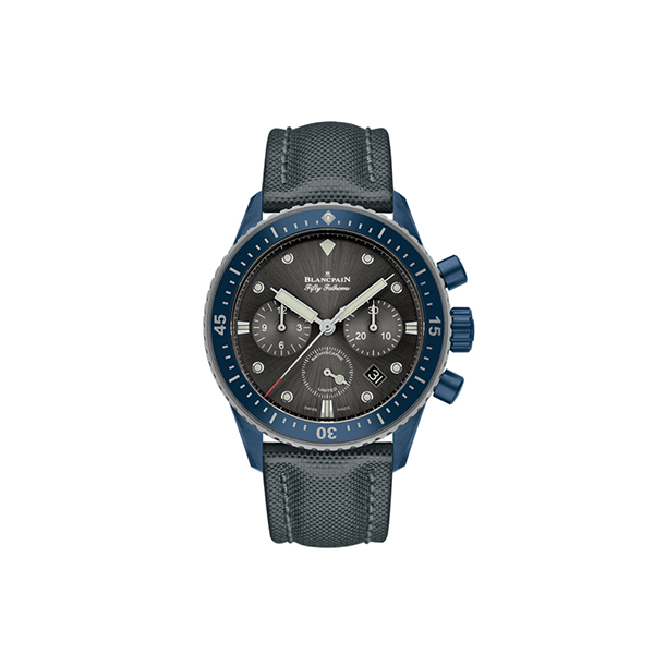 BLANCPAIN FIFTY-FATHOMS - Bathyscaphe Chronographe Flyback Ocean Commitment