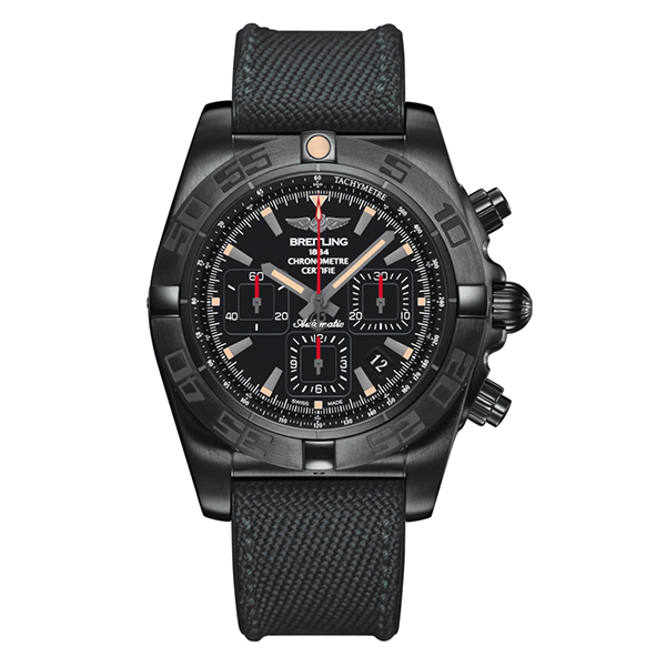 Orologio Chronomat 44 Blacksteel