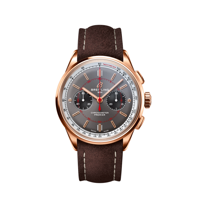 Orologio PREMIER B01 CHRONOGRAPH 42 WHEELS AND WAVES LIMITED EDITION