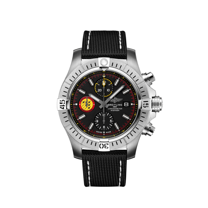 BREITLING AVENGER - AVENGER CHRONOGRAPH 45 SWISS AIR FORCE TEAM LIMITED EDITION