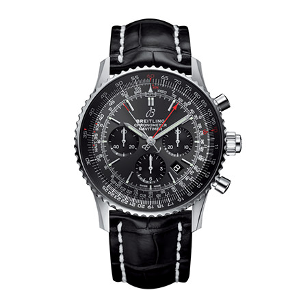 BREITLING NAVITIMER - NAVITIMER 1 B03 CHRONOGRAPH RATTRAPANTE 45 STRATOS GREY BOUTIQUE EDITION