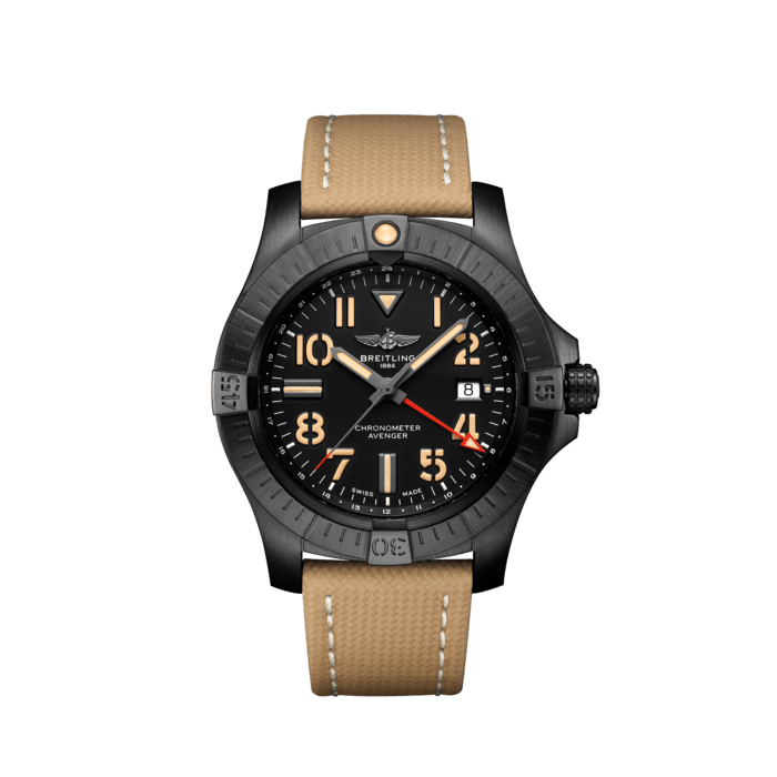 BREITLING AVENGER - AVENGER AUTOMATIC GMT 45 NIGHT MISSION