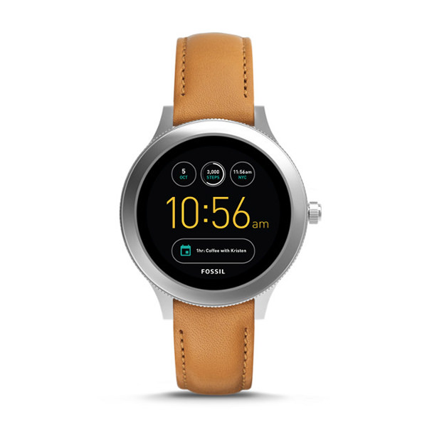 FOSSIL SMARTWATCH GEN 3 - Q VENTURE IN PELLE COLOR CUOIO