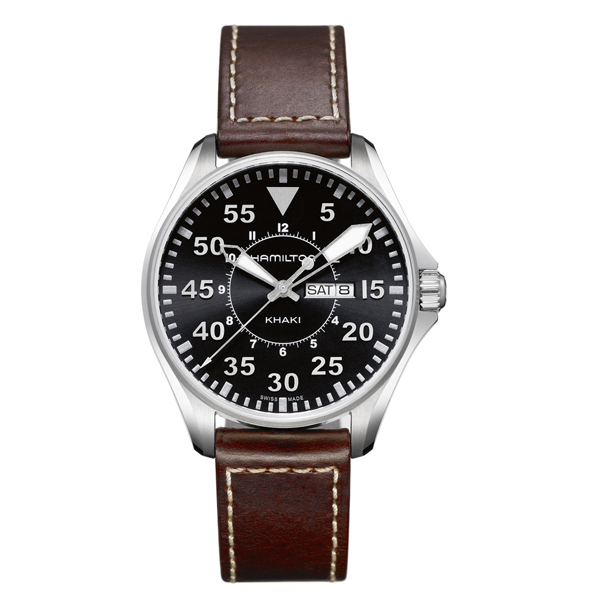 HAMILTON KHAKI-AVIATION - khaki pilot marrone