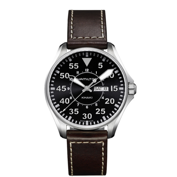 HAMILTON KHAKI-AVIATION - KHAKI PILOT QUARZO
