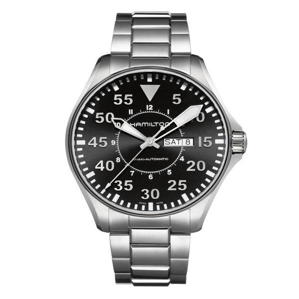 HAMILTON KHAKI-AVIATION - khaki pilot 46 marrone