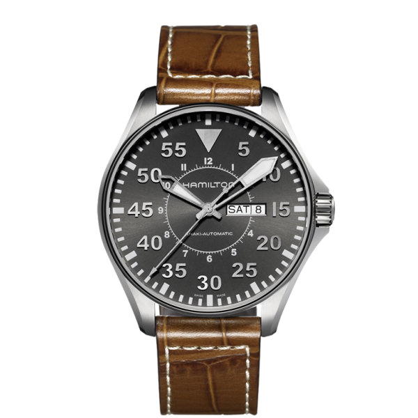 HAMILTON KHAKI-AVIATION - KHAKI PILOT AUTO