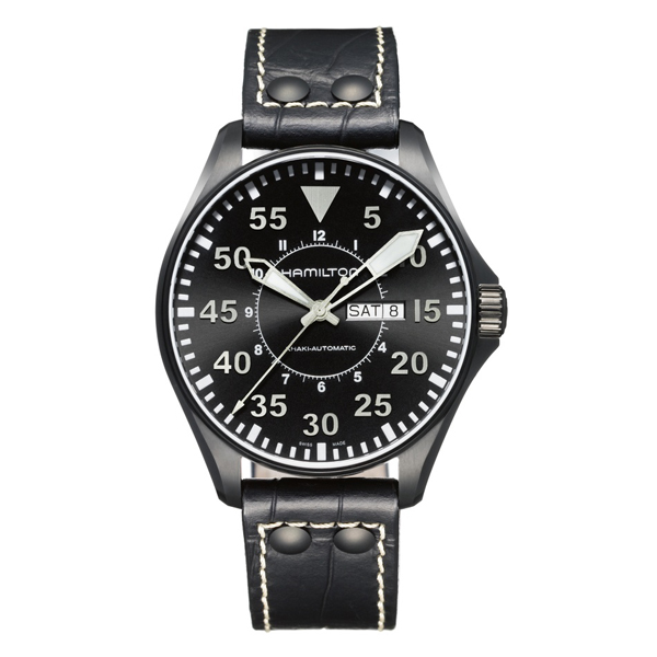 HAMILTON KHAKI-AVIATION - khaki pilot 46 nero