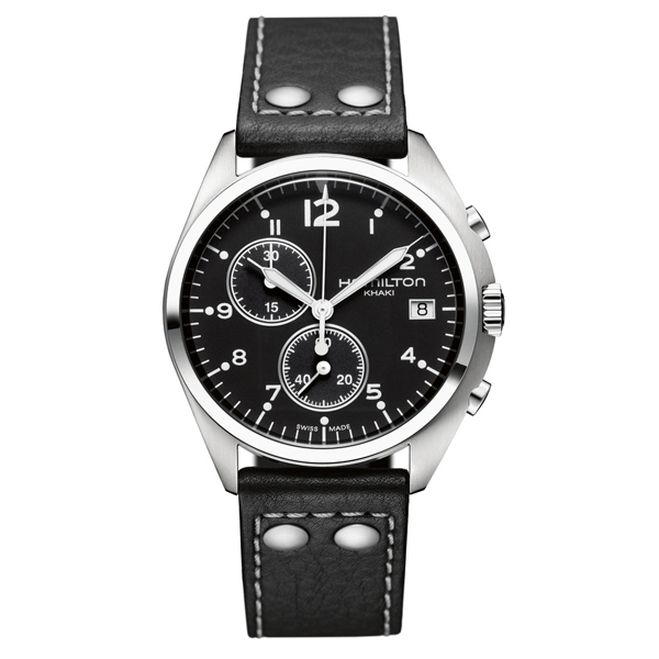 HAMILTON KHAKI-AVIATION - pioneer chrono nero