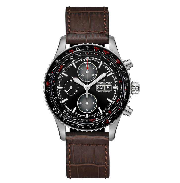 HAMILTON KHAKI-AVIATION - Converter Auto Chrono