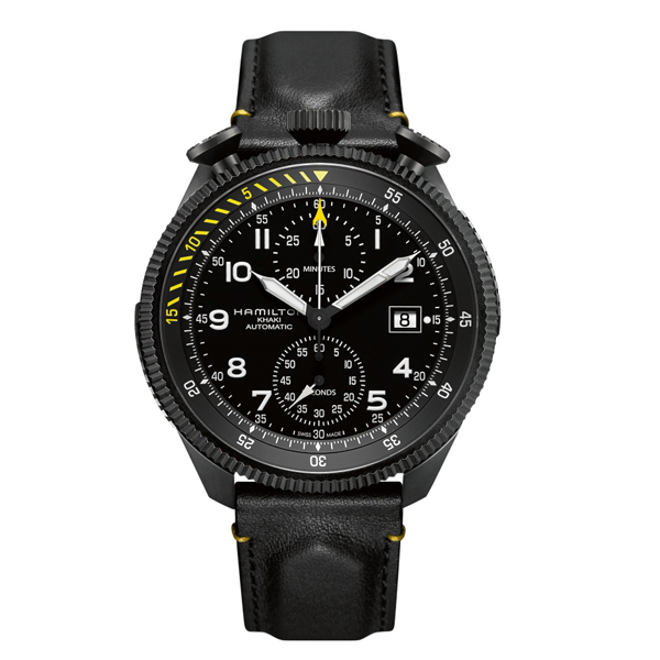 HAMILTON KHAKI-AVIATION - takeoff chrono