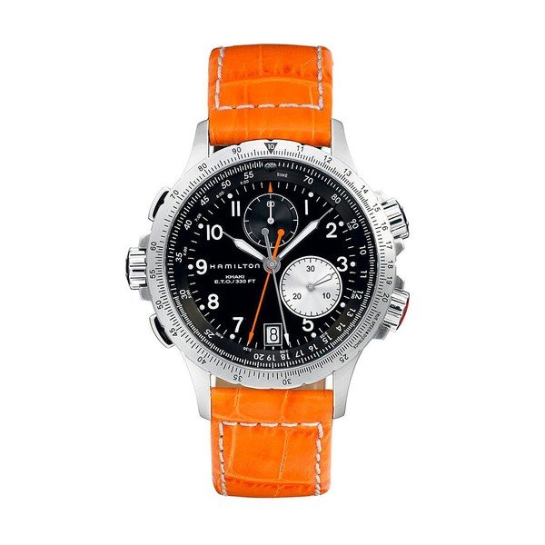 HAMILTON KHAKI-AVIATION - KHAKI AVIATION ETO CHRONO QUARTZ