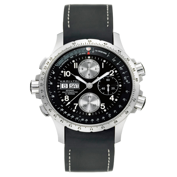 HAMILTON KHAKI-AVIATION - x - wind chrono