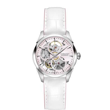 HAMILTON JAZZMASTER - Viewmatic Skeleton Lady Auto