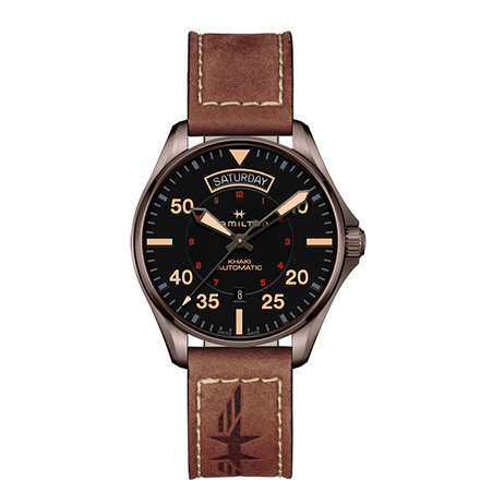 HAMILTON KHAKI-AVIATION - KHAKI PILOT DAY DATE AUTO