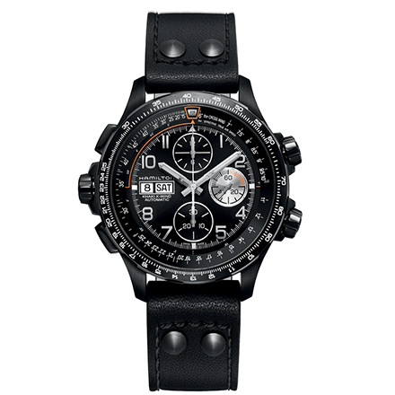 HAMILTON KHAKI-AVIATION - KHAKI X-WIND AUTO CHRONO