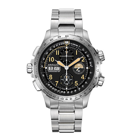 HAMILTON KHAKI-AVIATION - KHAKI X-WIND DAY DATE AUTO CHRONO - LIMITED EDITION