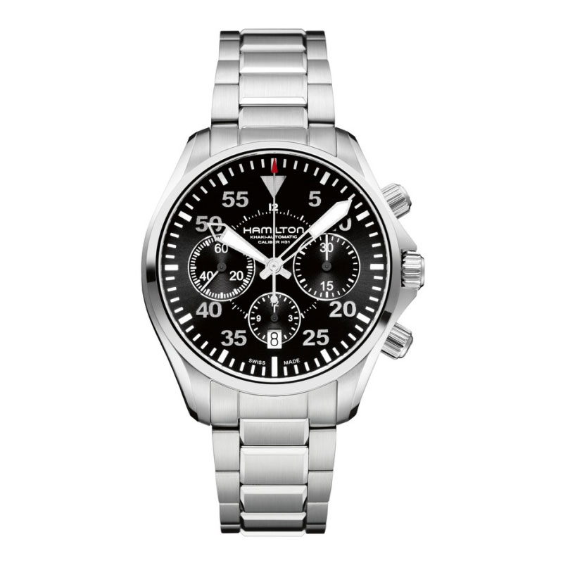 HAMILTON KHAKI-AVIATION - Pilot Auto Chrono