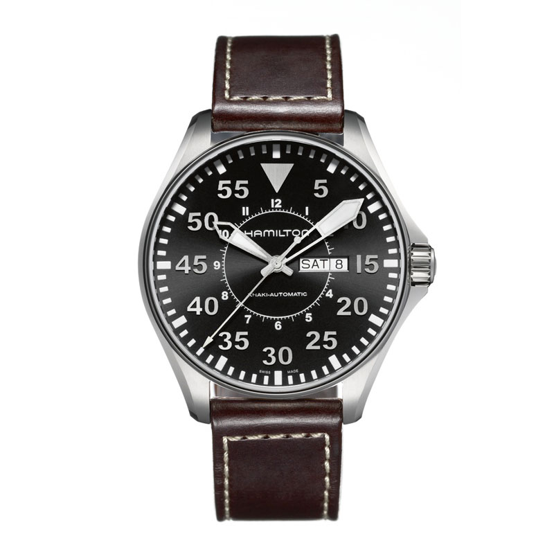 HAMILTON KHAKI-AVIATION - Pilot Auto