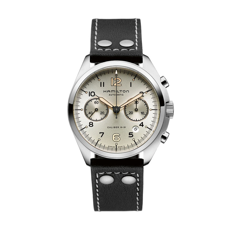 HAMILTON KHAKI-AVIATION - Pilot Pioneer Auto Chrono