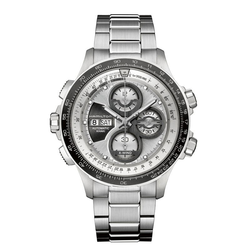 HAMILTON KHAKI-AVIATION - X-Wind Auto Chrono LE