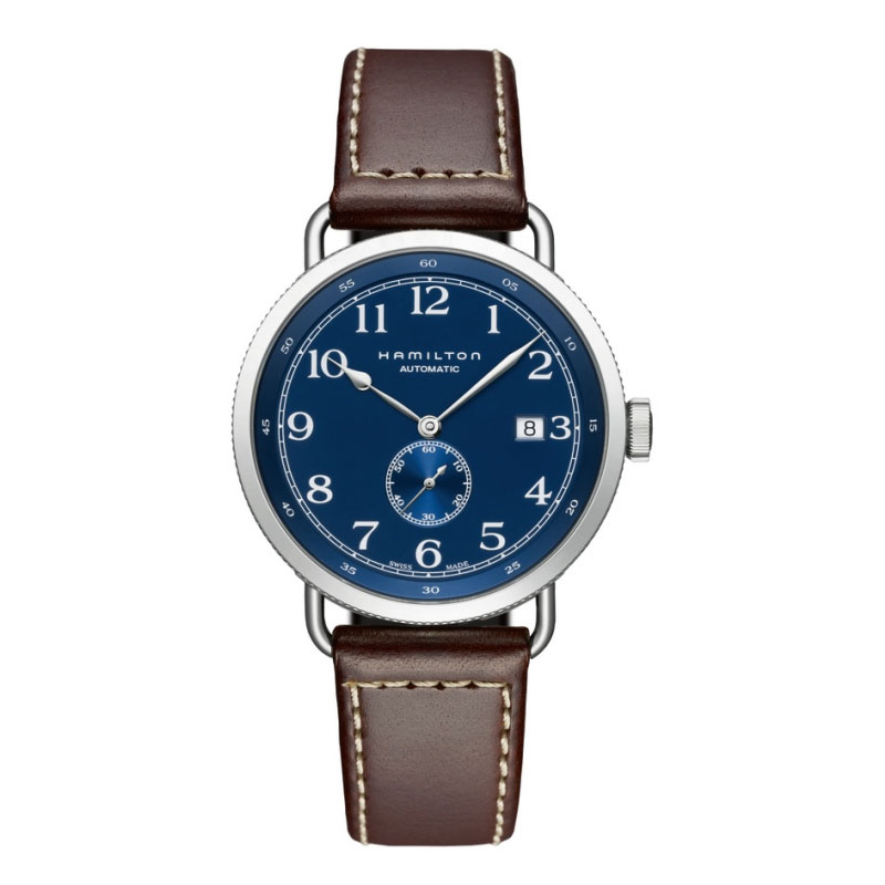 HAMILTON KHAKI-NAVY - Pioneer Small Second