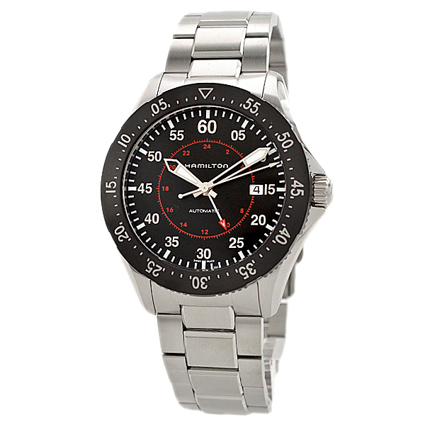 HAMILTON KHAKI-AVIATION - PILOT GMT AUTO