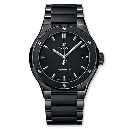 HUBLOT CLASSIC FUSION BLACK MAGIC BRACIALET 45 MM