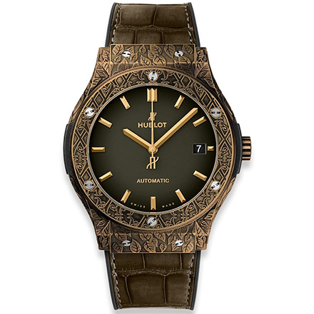 HUBLOT CLASSIC FUSION FUENTE LIMITED EDITION BRONZE 45 MM