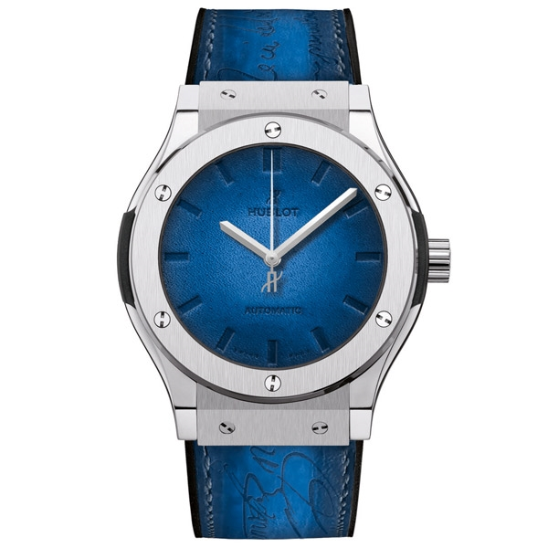 HUBLOT BERLUTI BLUE 45 mm
