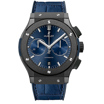HUBLOT CERAMIC BLUE CHRONOGRAPH 45 mm