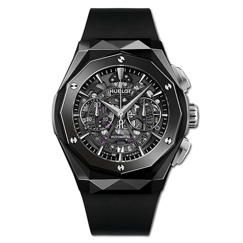 HUBLOT CLASSIC FUSION AEROFUSION CHRONOGRAPH ORLINSKI BLACK MAGIC 45 mm