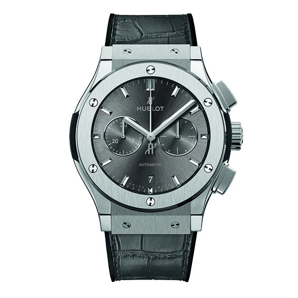 HUBLOT RACING GREY CHRONOGRAPH TITANIUM - 42 mm