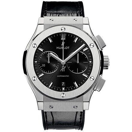 HUBLOT CHRONOGRAPH TITANIUM 45 mm
