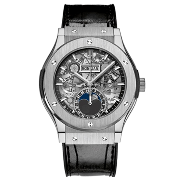 HUBLOT AEROFUSION MOONPHASE TITANIUM 42 mm