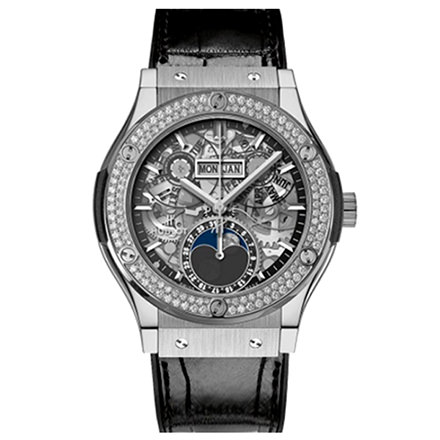 HUBLOT 42 MM FASI LUNARI