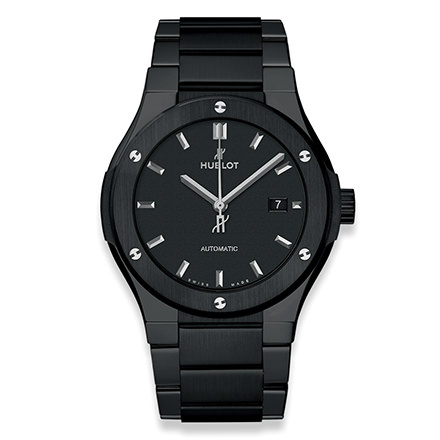 HUBLOT CLASSIC FUSION BLACK MAGIC BRACIALET 42 MM
