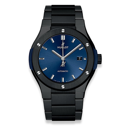 HUBLOT CLASSIC FUSION BLU MAGIC BRACIALET 42 MM