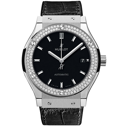 HUBLOT TITANIUM DIAMONDS