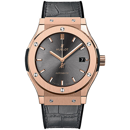 HUBLOT KING GOLD RACING GREY