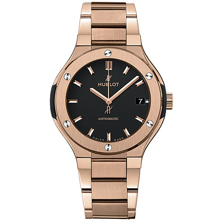 HUBLOT KING GOLD BRACELET 38 mm