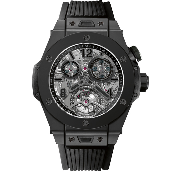 HUBLOT Tourbillon Chronograph Cathedral Minute Repeater All Black