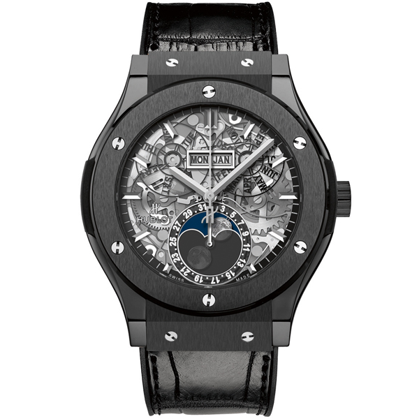 HUBLOT Aerofusion Moonphase Black Magic