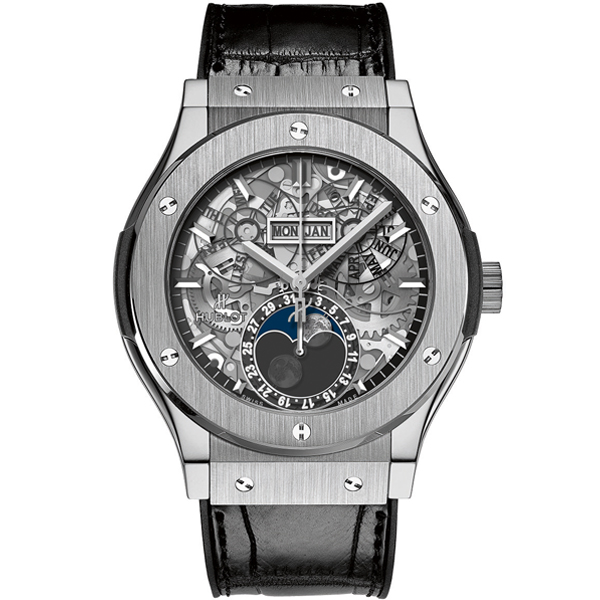 HUBLOT Aerofusion Moonphase Titanium