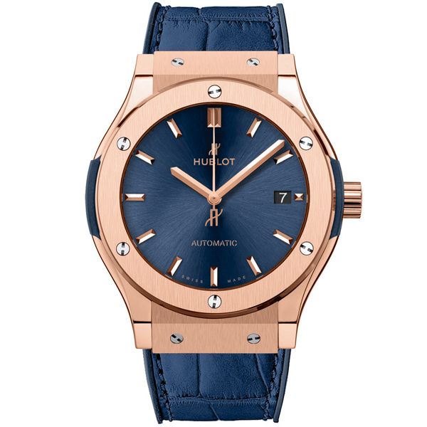 HUBLOT Blue King Gold