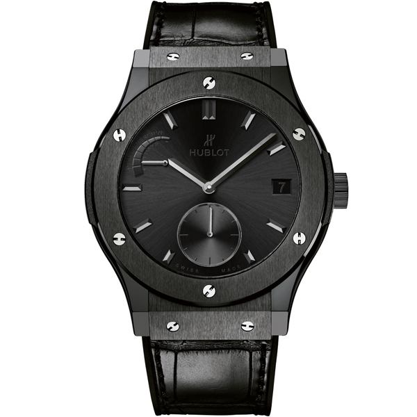 HUBLOT Power Reserve All Black